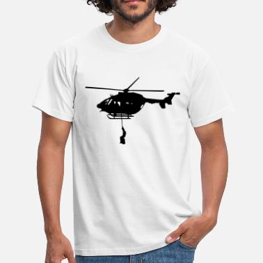 Rescue Helicopters Dragon helicopter rescue - Men's T-Shirt