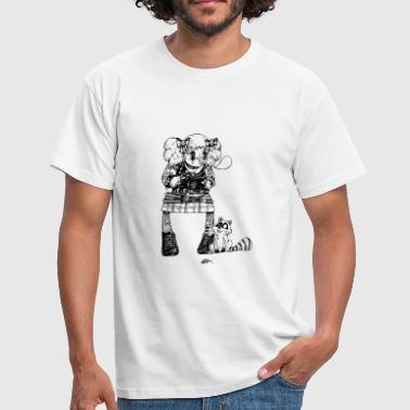 Candy was a punk - T-shirt Homme