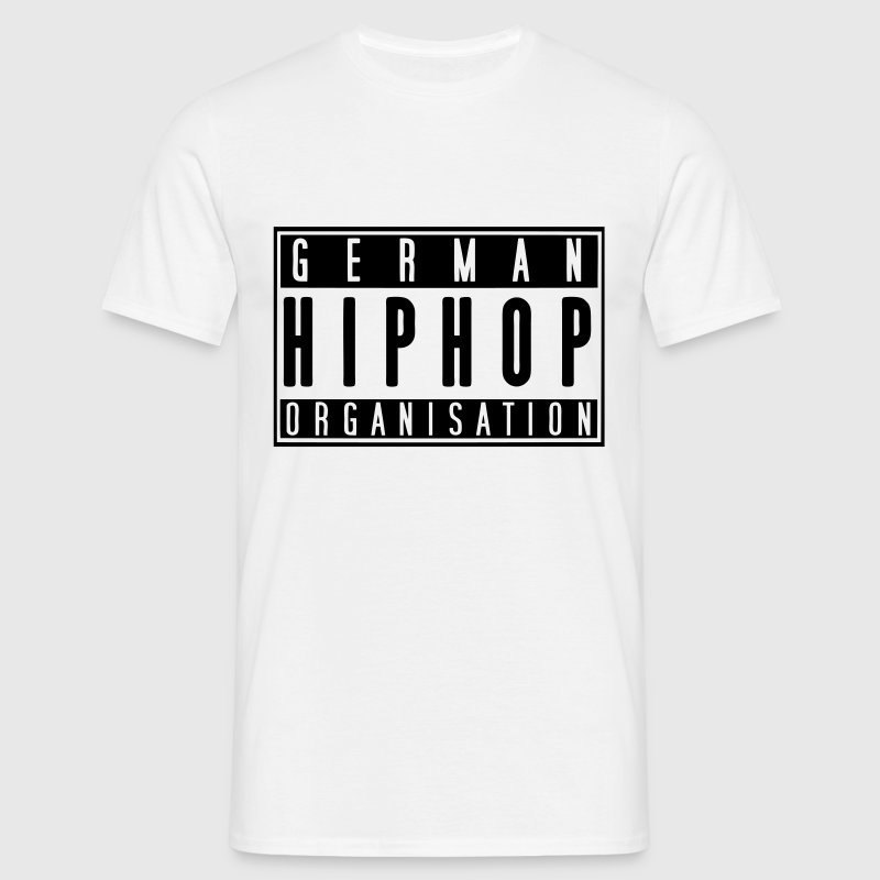 German Hiphop Organisation - Männer T-Shirt