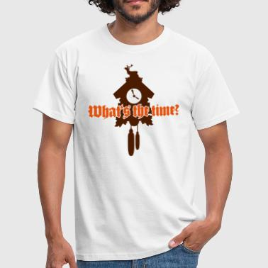 Chirp Whats the time? - Männer T-Shirt