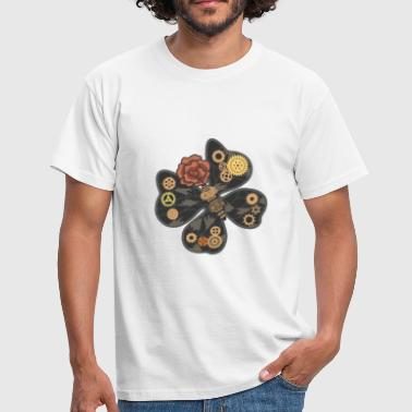 Mecha Butterfly Steampunk - Camiseta hombre