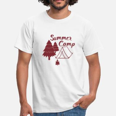 Summer Camping in summer camp camp gift - Men's T-Shirt