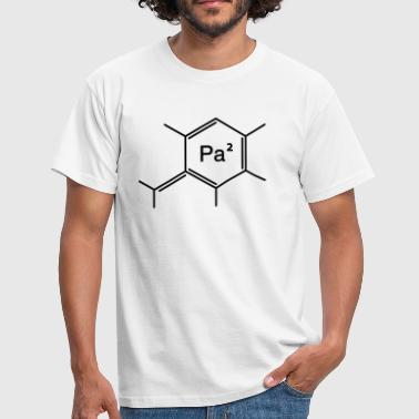 Amusing papa - Men's T-Shirt