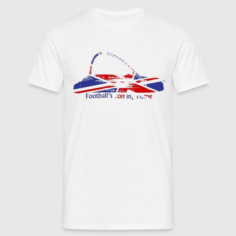 Wembley Stadium Union Jack - Men's T-Shirt