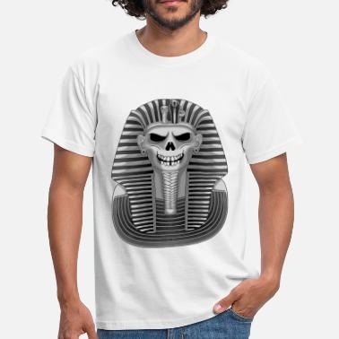 Pharaoh Skull - Men's T-Shirt