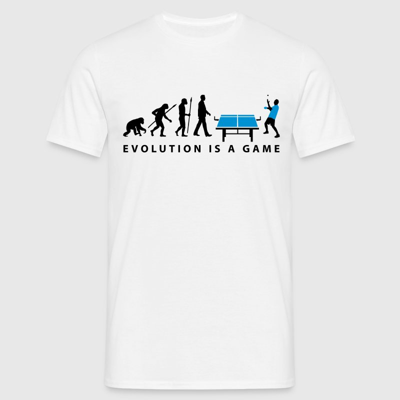 evolution_table_tennis_072012_c_2c - Men's T-Shirt