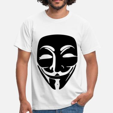 V For Vendetta Anonymous - T-shirt Homme