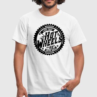 Wheels Bikers. Hot wheels - Men's T-Shirt