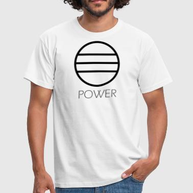 Black-power Power black - Herre-T-shirt