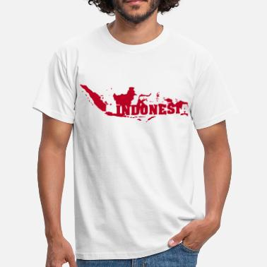 Indonesien Indonesia (ID: 002004) - Männer T-Shirt