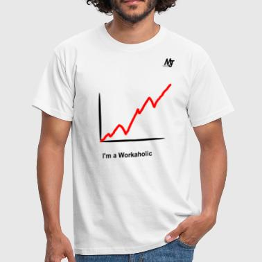 Workaholic workaholic - T-shirt herr