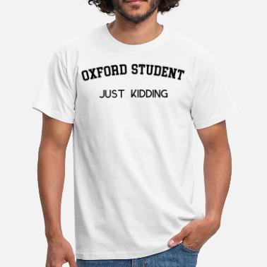 Oxford ESTUDIANTE DE OXFORD - Camiseta hombre