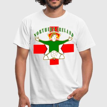northern ireland football celebration design - Men's T-Shirt