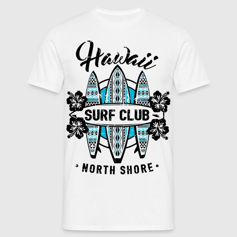 AD Surf Hawaii - Männer T-Shirt