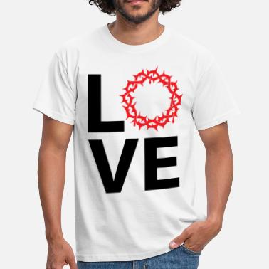 Faithfulness Love Jesus Christ - Men's T-Shirt