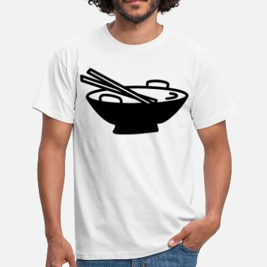 Asian Food asian food - Men's T-Shirt
