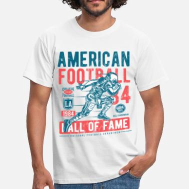 Hall Of Fame Football Hall of Fameen - Urheilu Shirt Design - Miesten t-paita