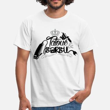 Barbe Humour Tatoué & Barbu - T-shirt Homme