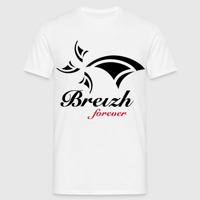 BREIZH FOR EVER - BZH - HERMINE - T-shirt Homme