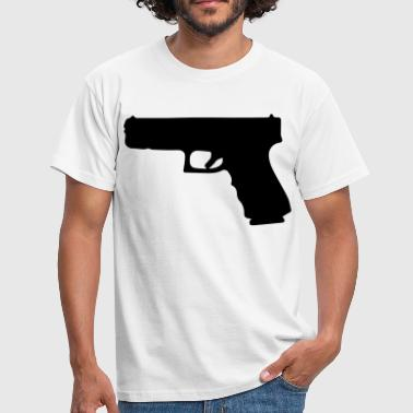 glock gun - Men's T-Shirt