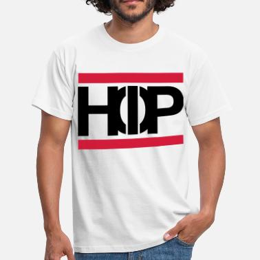 Hop Old School Hip Hop Text Scripture Present - T-shirt herr