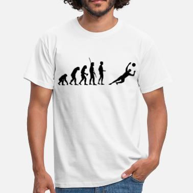 Gardien gardien de but Evolution enregistre  - T-shirt Homme