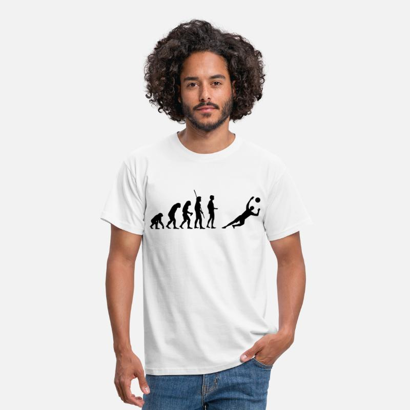 But T-shirts - gardien de but Evolution enregistre  - T-shirt Homme blanc