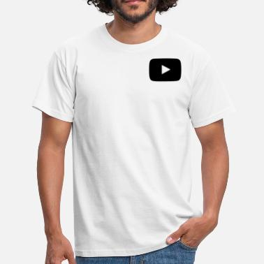 Youtube Logo Youtube Logo - Männer T-Shirt