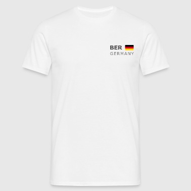 BER GERMANY GF dark-lettered 400 dpi - Men's T-Shirt