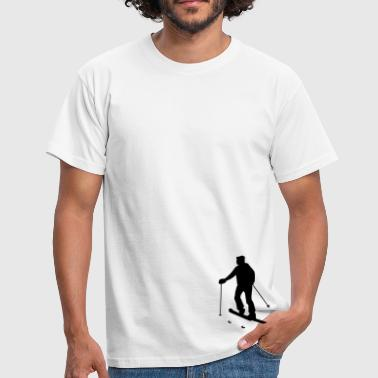 ski tour - alpine touring - Männer T-Shirt