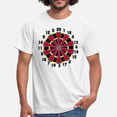 Dartboard (ID: 010004) - Men's T-Shirt