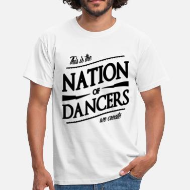 Nation Nation of Dancers - Koszulka męska