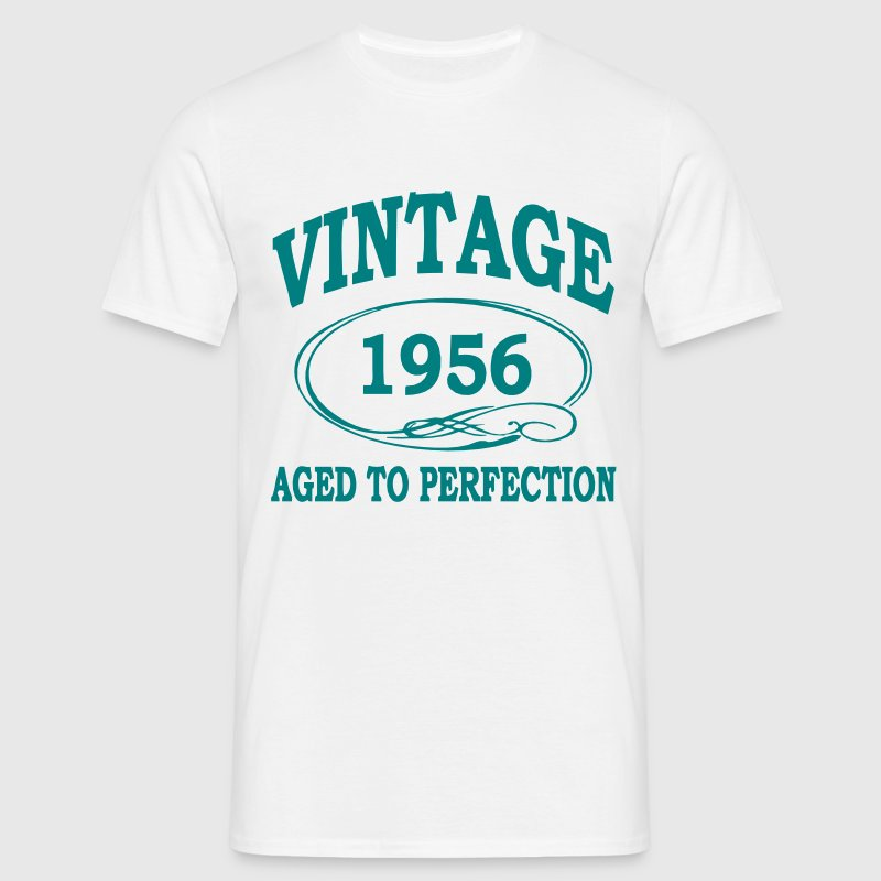 Vintage 1956 Aged To Perfection - Men's T-Shirt