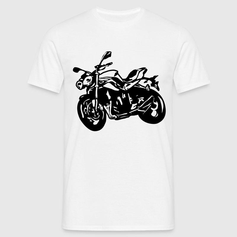 motorcycle Naked Bike Street Fighter - Men's T-Shirt