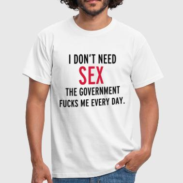 Sex - Mannen T-shirt