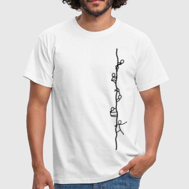 Ropers - climbers - Men's T-Shirt