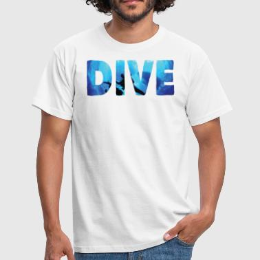 Free Diving Dive and be free - Men's T-Shirt