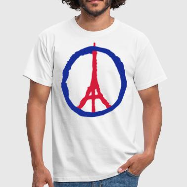 Attentat symbole Tour Eiffel - Paris - T-shirt Homme