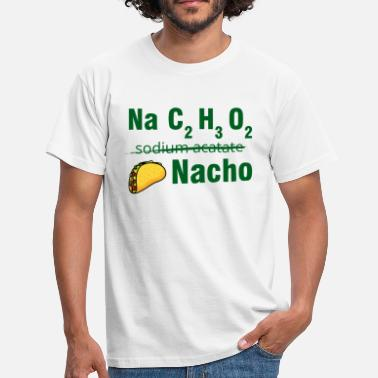 O2 Periodic table: Na C2 H3 O2 - Nacho - Men's T-Shirt