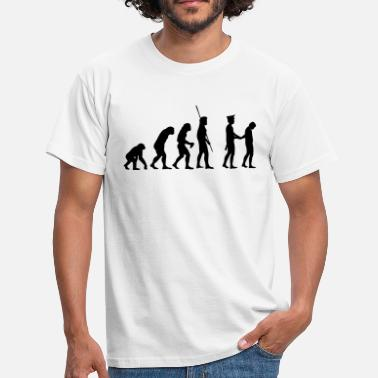 Polis Evolution polisen arrestera  - T-shirt herr