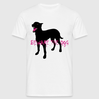 Beware The Dog - Männer T-Shirt