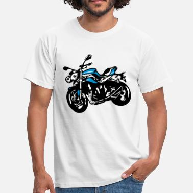 Streetfight Motorcykel naked bike Streetfighter - Herre-T-shirt