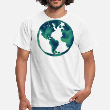 Blue Earth Blue Blue Earth Gift Idea - Men's T-Shirt