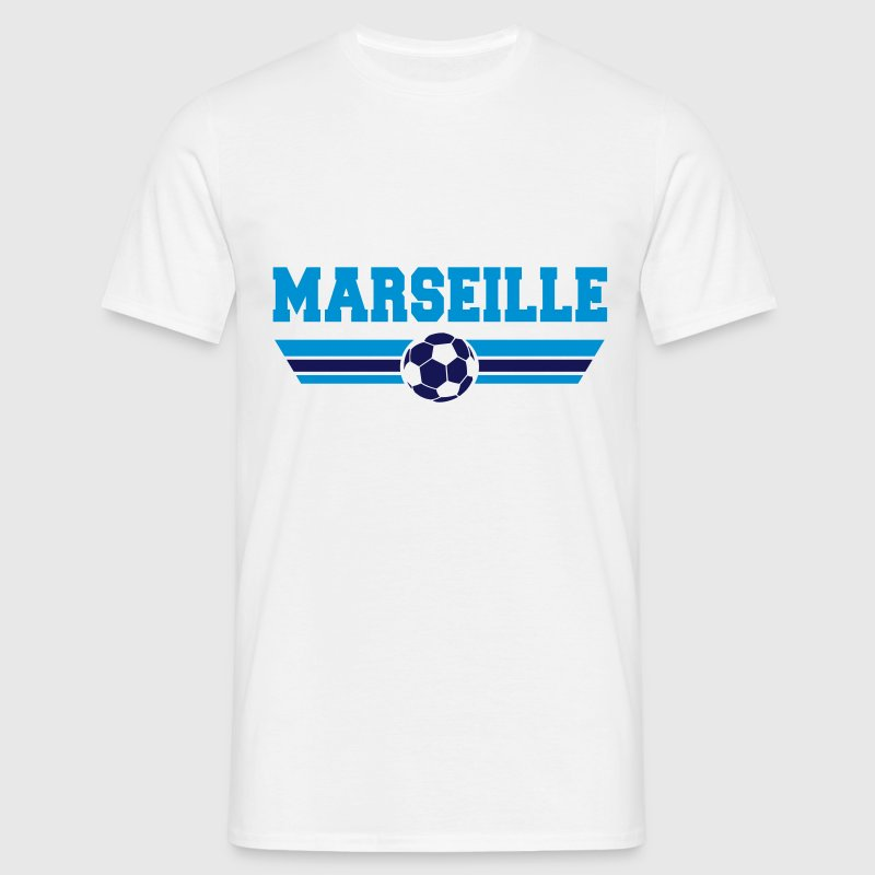 Marseille foot - T-shirt Homme