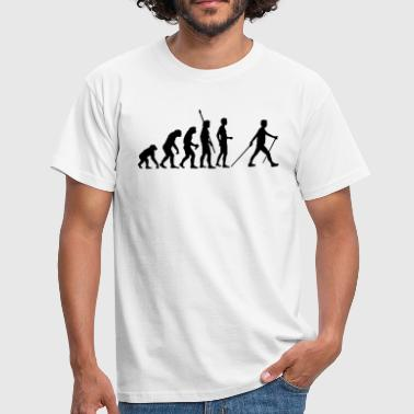 evolution_nordic_walking - Men's T-Shirt