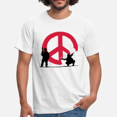 Peace Not War peace not war - Men's T-Shirt