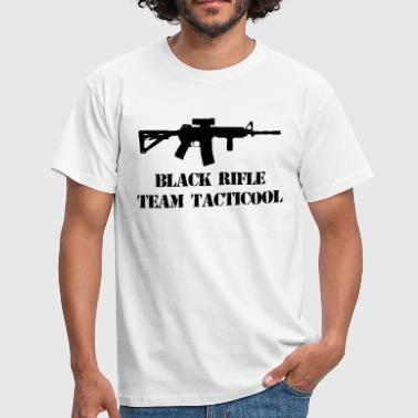 black rifle tacticool - Mannen T-shirt