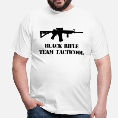 Black Rifle black rifle tacticool - Men's T-Shirt