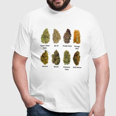8 Buds of Mary Jane - Männer T-Shirt