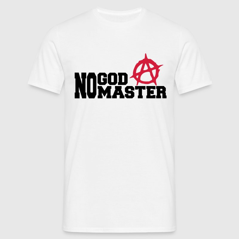 no god no master - Men's T-Shirt